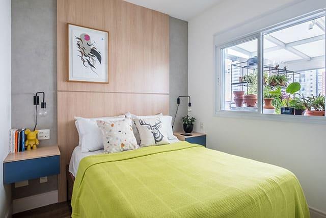 revistaSIM Arquitetura Estudio em Sao Paulo Quarto 2 Credito Nathalie Artaxo - Projeto de apartamento de 100m² priorizou a identidade do casal