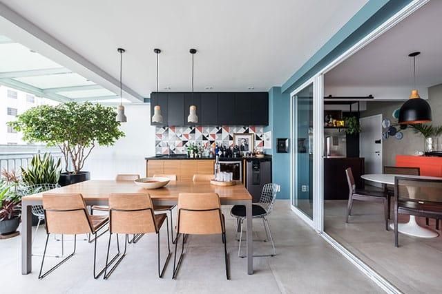 revistaSIM Arquitetura Estudio em Sao Paulo Sala de jantar 3 Credito Nathalie Artaxo - Projeto de apartamento de 100m² priorizou a identidade do casal