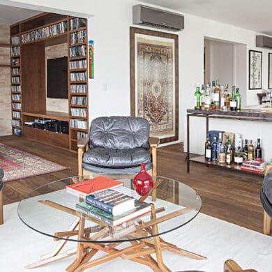 revistaSIM Decoracao Cadeiras de design em casa Destaque Credito Gui Morelli 390x390 - Saiba como utilizar cadeiras de design na decoração da sua casa