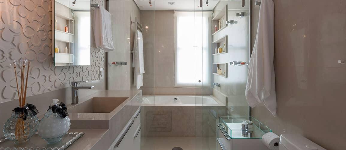 revistaSIM Arquitetura Banheiros DESTAQUE Credito Carlos Piratininga 1155x500 - Confira as dicas de projetos de banheiros para você não errar