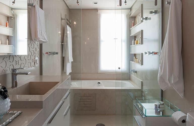 revistaSIM Arquitetura Banheiros DESTAQUE Credito Carlos Piratininga 770x500 - Confira as dicas de projetos de banheiros para você não errar