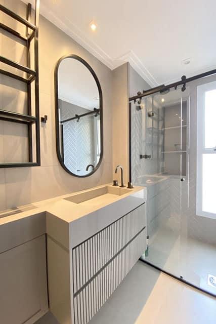 revistaSIM Arquitetura Banheiros Moderno Black Divulgacao - Confira as dicas de projetos de banheiros para você não errar