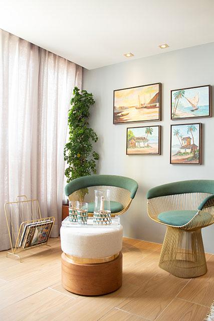 revistaSIM Decoracao Uso de cortinas Sala de leitura - Saiba tudo sobre o uso das cortinas para sua casa
