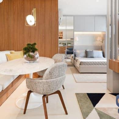 """revistaSIM Arquitetura Loft 48m2 DESTAQUE Credito Marcus Camargo 390x390 - A pesquisa """"Casa do Futuro"""" mostra a casa nos próximos 10 anos"""