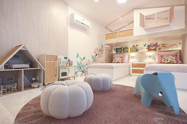 revistaSIM Arquitetura Quarto infantil 1 Credito Camilla Albuquerque - Arquitetas dão dicas de como montar o quarto infantil ideal