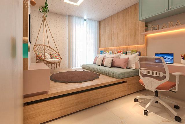 revistaSIM Arquitetura Quarto infantil 4 Credito Camilla Albuquerque - Arquitetas dão dicas de como montar o quarto infantil ideal