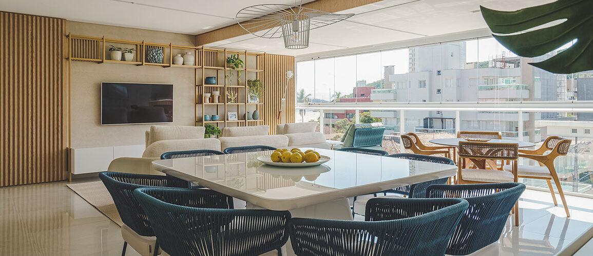 revistaSIM Arquitetura Apto 130m DESTAQUE Foto Marcelo Stammer 1155x500 - Confira uma inspiração para decoração do apto de praia