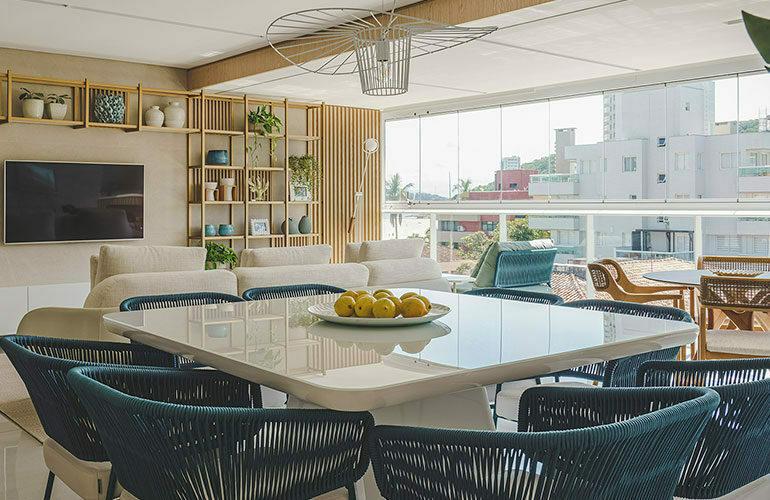 revistaSIM Arquitetura Apto 130m DESTAQUE Foto Marcelo Stammer 770x500 - Confira uma inspiração para decoração do apto de praia