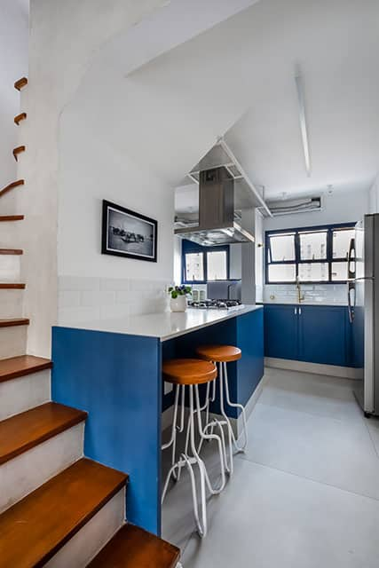 revistaSIM Arquitetura Projeto Duplex SP Studio Cozinha 3 Foto Nathalie Artaxo - Um apartamento de 175m² ganhou espaços diferenciados