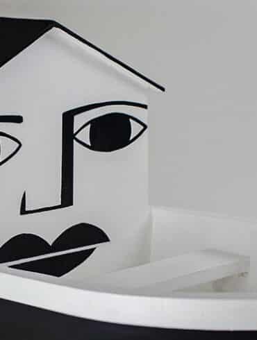 revistaSIM Arte Exposicao Derlon Destaque 1 370x490 - Um apartamento de 175m² ganhou espaços diferenciados
